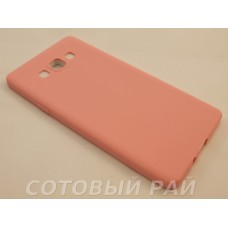 Крышка Samsung A700f (A7) Paik Силикон (Розовая)
