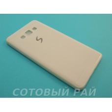 Крышка Samsung A700f (A7) Paik Силикон (Белая)