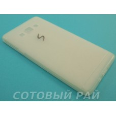 Крышка Samsung A700f (A7) Paik Силикон (Прозрачная)