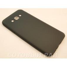 Крышка Samsung A800f (A8) Paik Силикон (Черная)