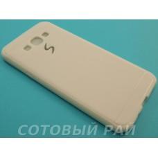 Крышка Samsung A800f (A8) Paik Силикон (Белая)