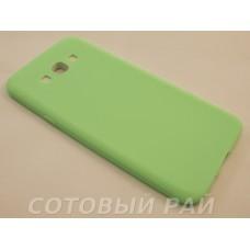 Крышка Samsung A800f (A8) Paik Силикон (Зеленая)