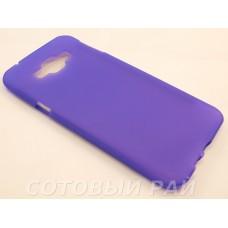 Крышка Samsung A800f (A8) Just Силикон (Фиолетовая)