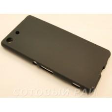 Крышка Sony Xperia M5 (E5633) Just силикон (Черная)