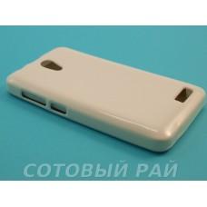 Крышка Lenovo A319 Paik силикон (Белая)