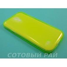 Крышка Samsung i9190 (S4 Mini) Just Slim Силикон (Зеленый)