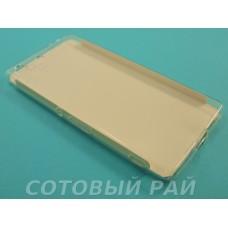 Крышка Sony Xperia M5 (E5633) Just Slim силикон (Прозрачная)