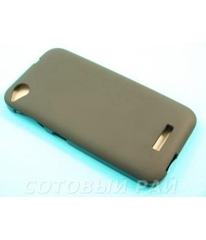 Крышка HTC Desire 320 Just силикон (Черная)