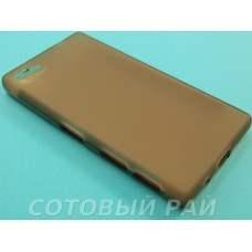 Крышка Sony Xperia Z5 Compact Силикон Just (Серая)