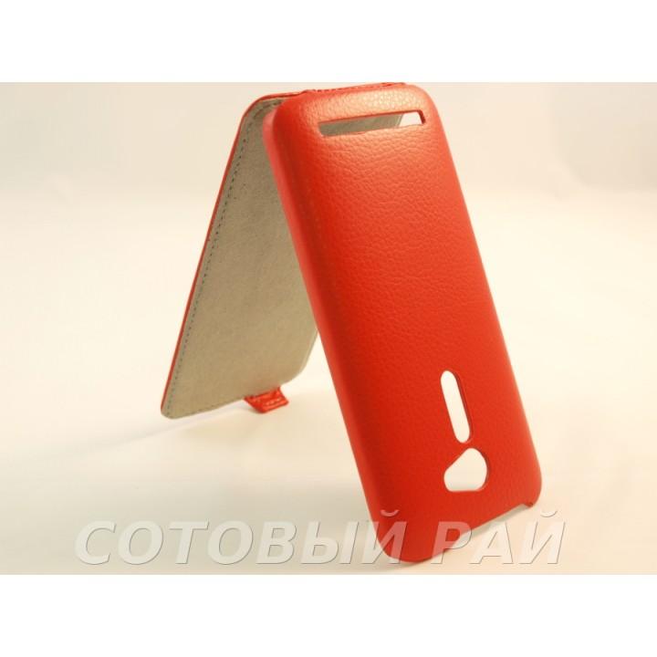 """Чехол-книжка Asus Zenfone 2 (5/ZE500CL) AIS (Красный)"""""""