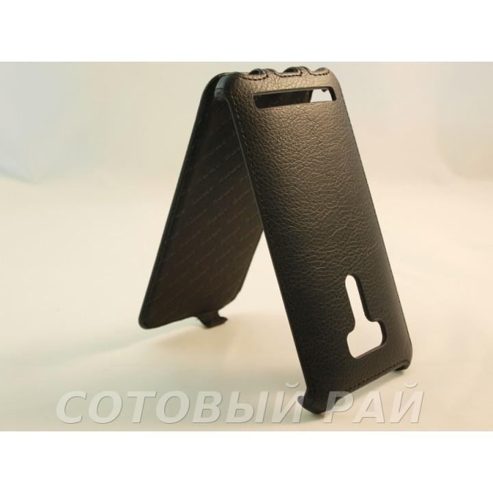 Чехол-книжка Asus Zenfone Selfie (ZD551KL) Armor Case (Черный)
