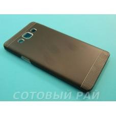 Крышка Samsung A700f (A7) Motomo Premium (Черный)