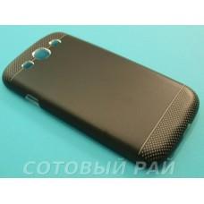 Крышка Samsung i9300 (S3) Motomo Premium (Черная)