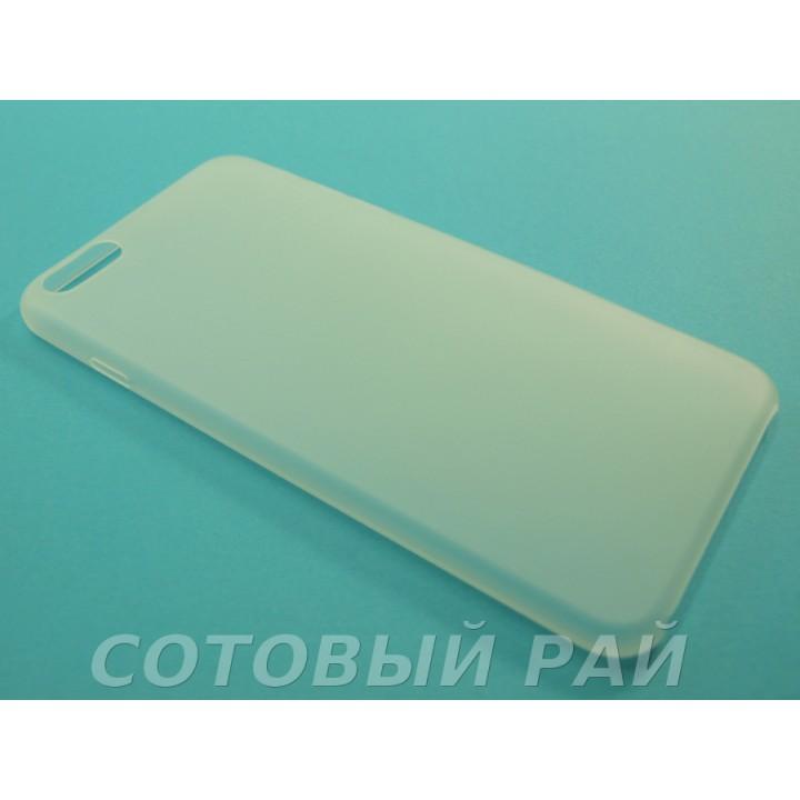 Крышка Apple iPhone 6 Plus Ультратонкая (Белая)