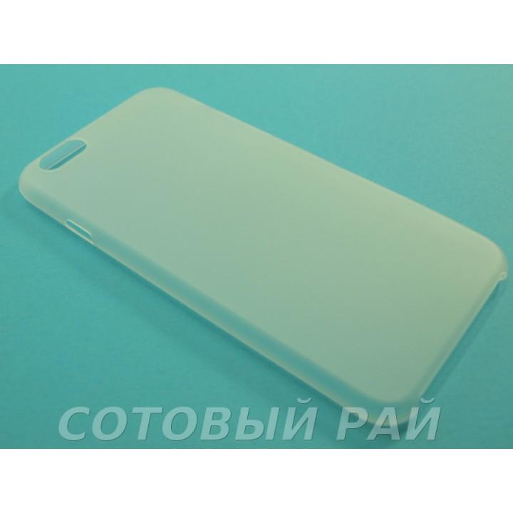 Крышка Apple iPhone 6 / 6s Ультратонкая (Белая)