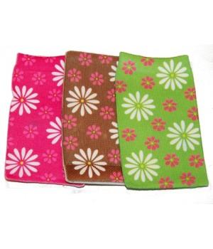 Кисет-носочек с цветами