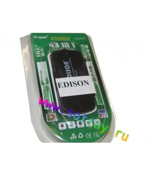 Кард-ридер Edison Micro Sd/Sd/M2/Mini/Pro Duo