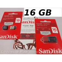 Флешка Sandisk USB 16 Cruzer Blade