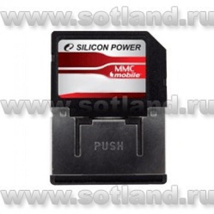 Карта памяти Silicon Power MMC Mobile Card 1 Gb