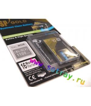 Аккумулятор Nokia BL-5CA 1110 , 2300 , 2700 , 3120 (700mAh) SP Gold