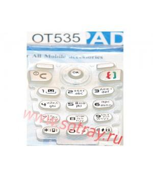 Кнопки Alcatel 535
