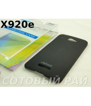 Крышка HTC Butterfly/X920e Jekod пластик Черная