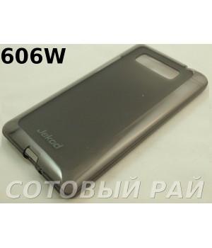 Крышка HTC Desire (606W) Jekod силикон (Серая)