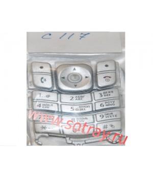 Кнопки Motorola C117