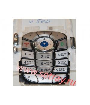 Кнопки Motorola V500
