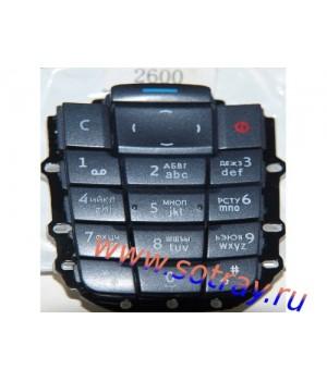 Кнопки Nokia 2600