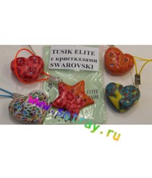 Брелок Tusik Elite с кристаллами Swarovski