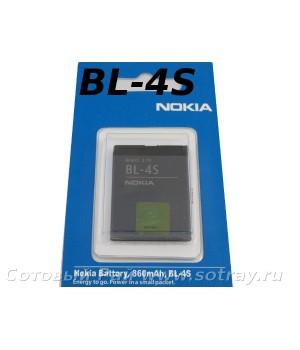 Аккумулятор Nokia BL-4S 7610C , 3600S , 2680 (780mAh) Original